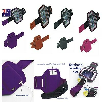 New Sports Gym Running Slim Armband for Apple iPhone 6s & 6 Plus Arm Band Case