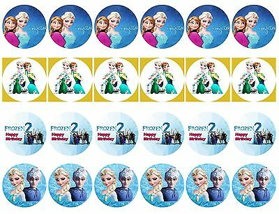 Frozen 2 Edible Icing Party Cake Topper Decoration Image Custom