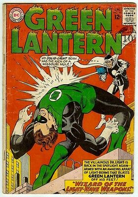 Green Lantern #33 (DC 1964; vg+ 4.5) guide value in this grade: $24.00 (£16.00)