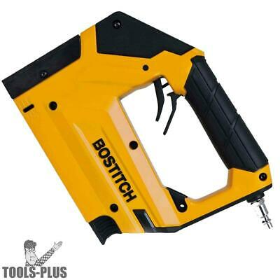 "3/8"" Pneumatic Stapler/Brad nailer (uses T50 Staples) Bostitch BTFP71875 New"