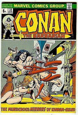 Conan the Barbarian #25 (Marvel 1973, vf- 7.5) Roy Thomas & John Buscema