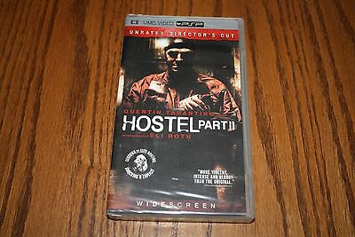 Hostel Part 2 Quentin Tarantino Unrated Directors Cut PSP UMD NEW