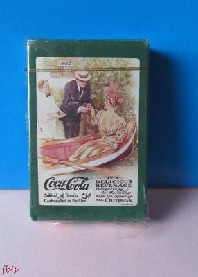 Coca-Cola Playing Cards Its a Delicious Beverage Cards 1920'S Visualls Antique
