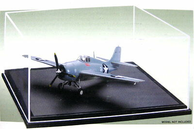 Dust cover Display counter Showcase Acrylic for Model airplanes 170x170x70mm