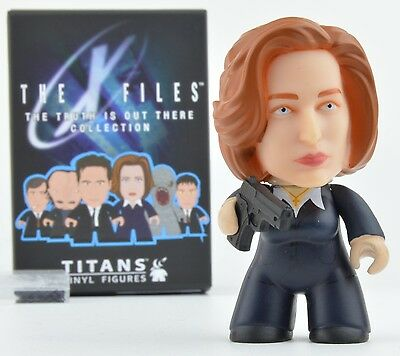 X-Files Titans Truth is Out There Collection Vinyl Mini-Figure - Dana Scully