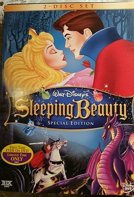 Sleeping Beauty (DVD, 2003, 2-Disc Set, Newly Restored) Walt Disney