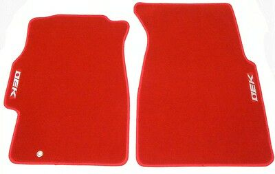 4 Pc Carpet Set 96-00 Civic 3Dr Ek9 Hatch Dx Cx Red Floor Mats Custom Fit