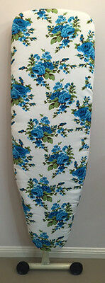 New Deluxe Double Sided Padded Reversible Fitted Ironing Board Cover Multi Sizes