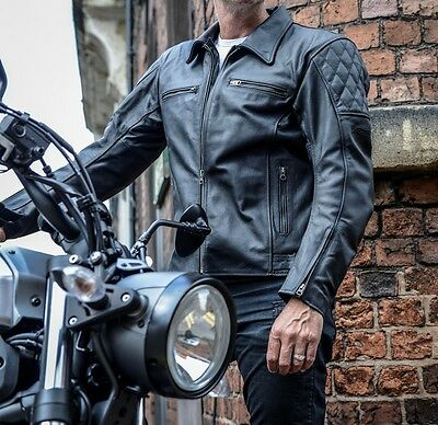 RST Pro Series CPXC Leather Jacket Sport Motorcycle Riding Bike Rider