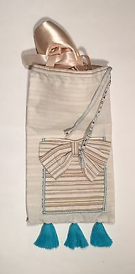 New Dance/Ballet/Pointe Drawstring Shoe Bag - JUST REDUCED!