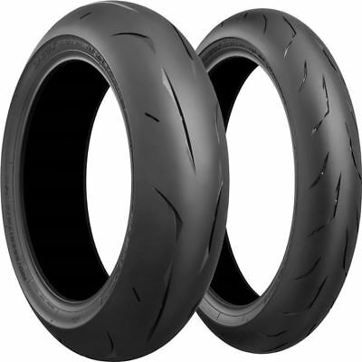 120/70ZR 17, 180/55ZR 17 BRIDGESTONE BATTLAX RS10 RACING FRONT REAR TIRE KIT 2pk