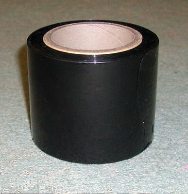 100mm x 600m 20UM BLACK Hand Stretch Film for Pallet Carton Shrink Go Kart Wrap