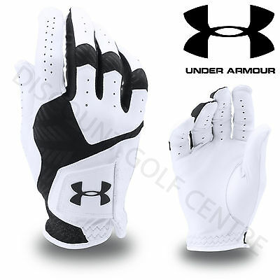 Under Armour 2017 Men's UA Coolswitch Golf Glove - Right Handed Golfer - White