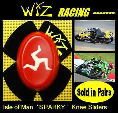 Wiz Sparky Isle Of Man Flag Knee Sliders