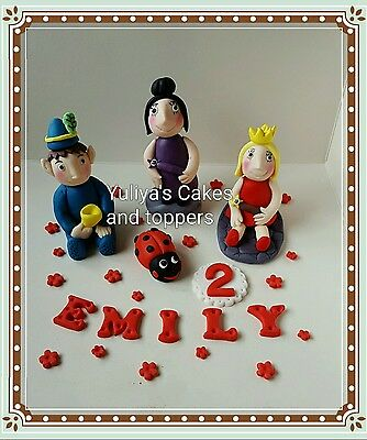 1 figurine Ben and Holly's little kingdom edible cake topper,icing decoration