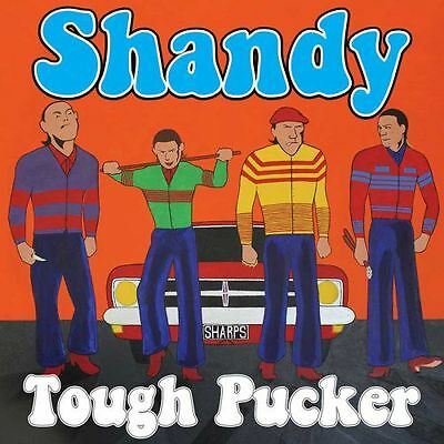 "SHANDY "" Tough Pucker "" Glam Punk Oi LP Lim Ed Orange Bootboy sharpie bower"