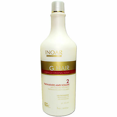 BRAZILIAN KERATIN INOAR G HAIR STRAIGHTENING GERMAN FORMULA 34oz(1000ml) STEP 2