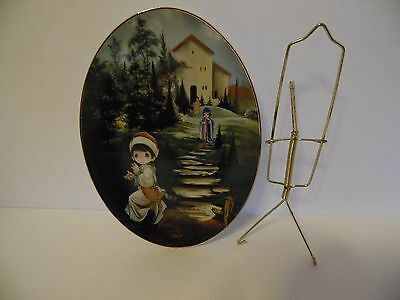 Precious Moments Prodigal Son Collectors Plate Signed And Numbered