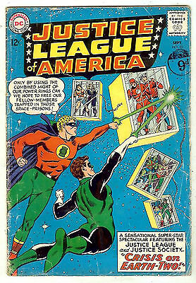 Justice League of America #22 (1963 vg 4.0) guide value: $62.00 (£41.00)