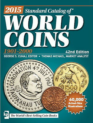 2015 Standard Catalog of World Coins 1901-2000 42th  Edition  PDF