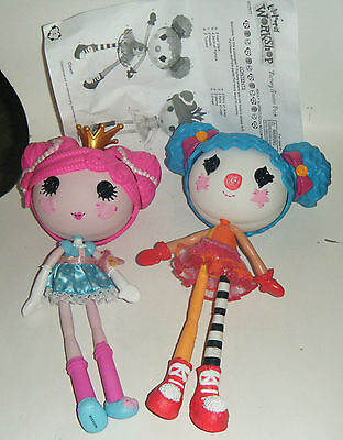Lalaloopsy Dolls - Factory Starter Pack / Clown & Princess