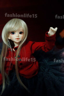 1/4 BJD doll Girl Unoa lusis Doll FREE FACE MAKE UP+EYES-Araki_neutral color