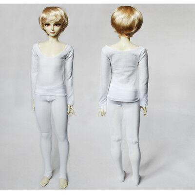 [wamami] 2 Unisex White Anti-dye Underwear / Pants / Clothes 1/3 SD BJD Doll