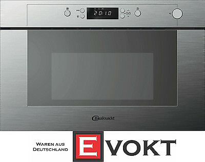 Bauknecht EMWP 9238 PT Solo Microwave Oven Built-In Stainless Steel Genuine NEW