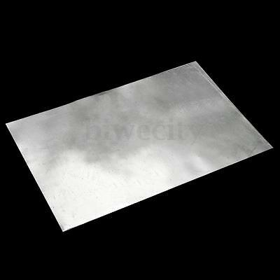1/5/8x Zinc Zn Sheet Plate 150×100×0.3/100×100×0.5/500×100×0.2mm for Science lab