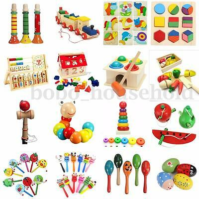 Funny Baby Children Kids Educational Intellectual Wooden Toy Birthday Gift