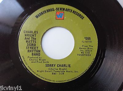 Charles Wright-Love Land-Warner Bros 7365. Vg+