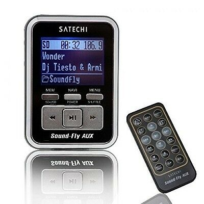 NEW Soundfly AUX OUT MP3 Player Car Fm Transmitter for SD Card, USB 3.5mm Jack