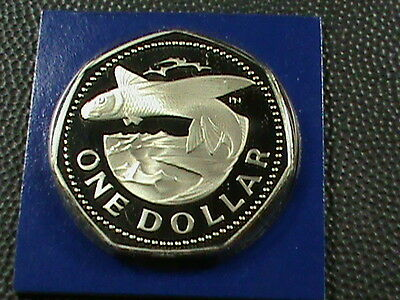 BARBADOS    1  Dollar    1975    PROOF