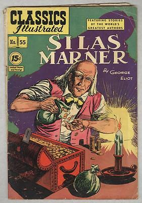 Classics Illustrated #55 January 1949 VG Silas Marner