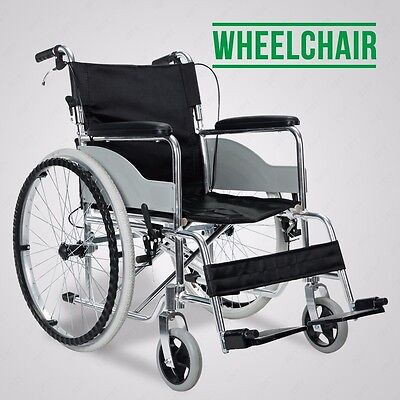 Ultra Lightweight Luxury Aluminium Folding Self-Propelled Wheelchair Travel