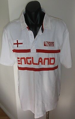 England Rugby Union World Cup 2015 Jersey Shirt Size Large Xl In Good Condition