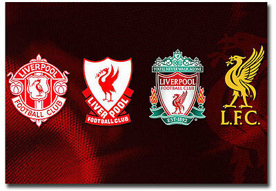 "The Logo History Liverpool Football Club Fridge Magnet Size 3.5"" x 2.5"""