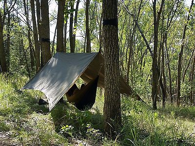 Hammock Rainfly - Infinity Outfitter Coffee Bean Green