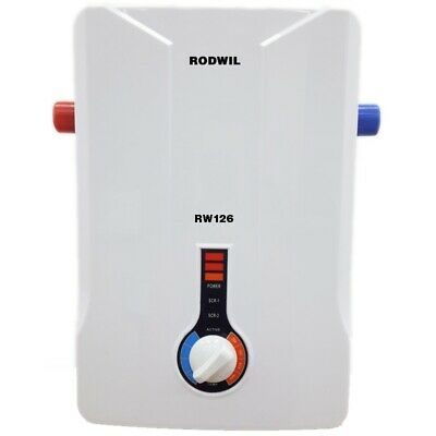 Electric Tankless Water Heater Endless Hot Water On-Demand 11KW - 2.9 GPM RW126