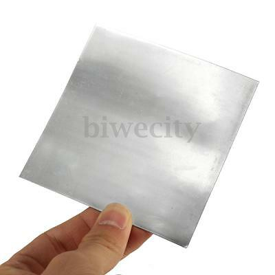 5Pcs High Purity Pure Zinc Zn Sheet Plate Metal Foil 100mmx100mmx0.5mm For Lab