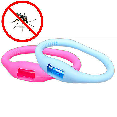 Baby Kids Anti-Toxic Anti Insect bug Mosquito Repellent Bracelet Wristband Band