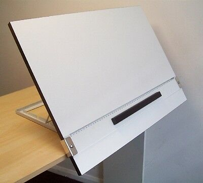 Hellerman A2 Drawing Board with Desk Stand
