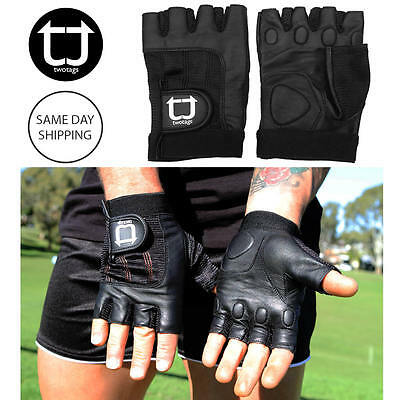 TWOTAGS Gym Gloves FITNESS WEIGHT LIFTING WORKOUT CYCLING TRAINING CROSSFIT 4