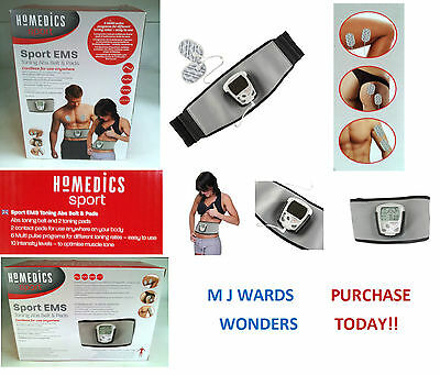 Sports EMS – Toning ABS Belt & Pads – Homedics Sport ** PURCHASE TODAY **