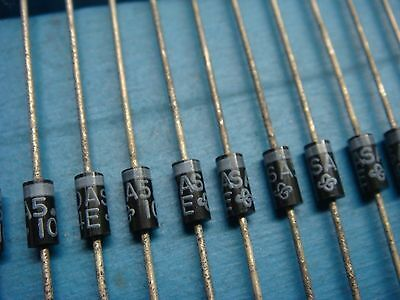 (50) General Semi Sa5.0A 5V 500W Transient Voltage Suppressor Diode