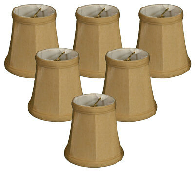 Royal Designs Empire Chandelier Lamp Shade - 3 x 4.25 x 4.25 - Clip-On