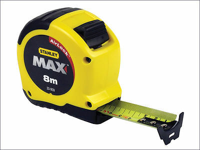 Stanley Tools Max Tape Rule 8m / 26ft (Width 28mm) STA533956