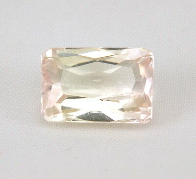 TOP HIDDENITE : 8,32 Ct Natürlicher Gelber Hiddenit ( Yellow Kunzite )