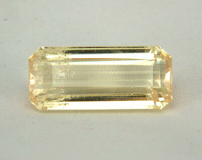TOP HIDDENITE : 17,06 Ct Natürlicher Gelber Hiddenit ( Yellow Kunzite )