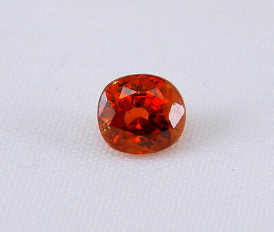 TOP SPESSARTINE : 1,16 Ct Natürlicher Orange Spessartin / Spessartit Granat
